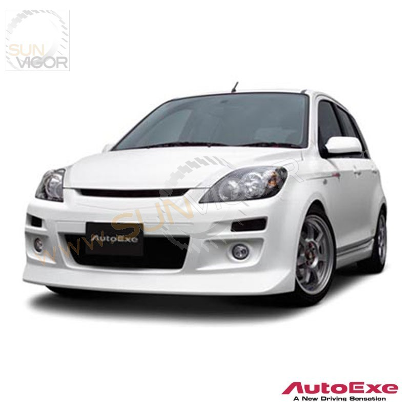 05 07 mazda2 dy autoexe front bumper cover aero kit. Black Bedroom Furniture Sets. Home Design Ideas