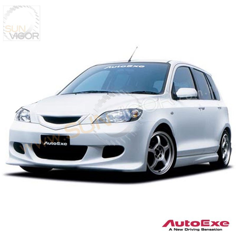 02 04 mazda2 dy autoexe front grill mdy2500 sun vigor. Black Bedroom Furniture Sets. Home Design Ideas