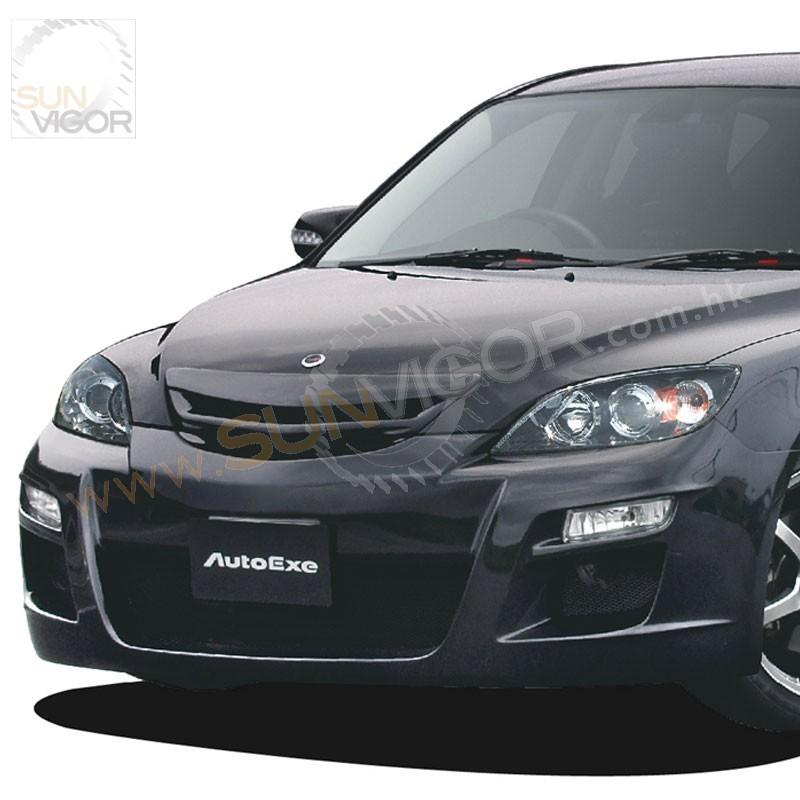 Mazda3 5 Door >> 07-09 Mazda3 [BK] AutoExe Front Bumper Aero Kit MBX2000 ...