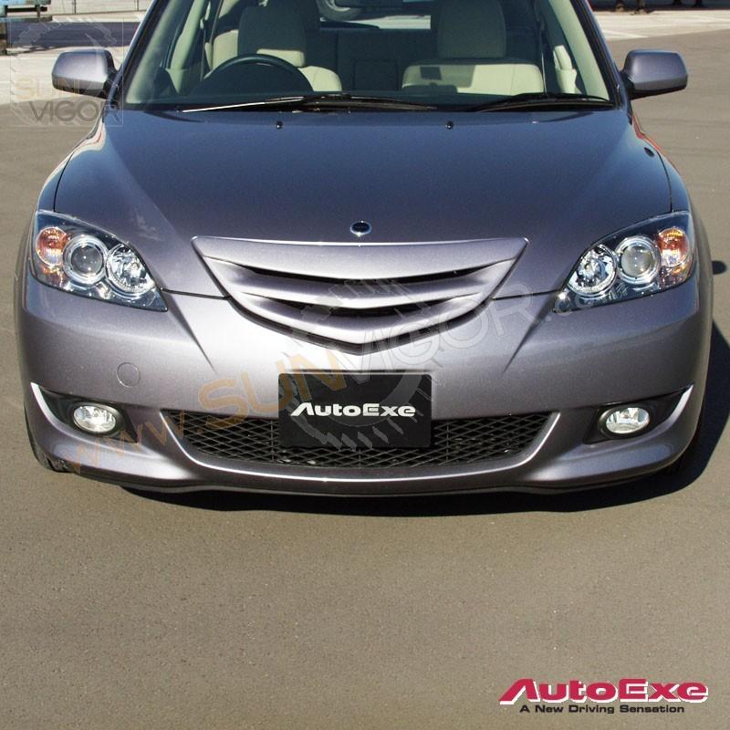 2007 Mazda Mazda3 Exterior: 03-06 Mazda3 [BK] AutoExe Front Grill MBK2510