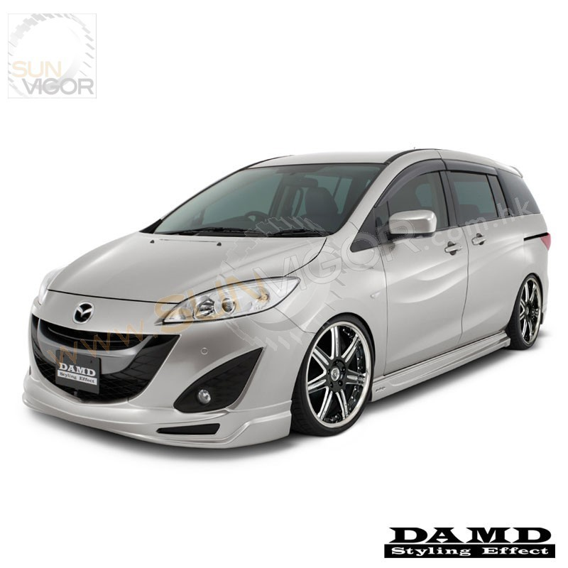 2010 mazda5 cw damd front bumper lower spoiler sun. Black Bedroom Furniture Sets. Home Design Ideas