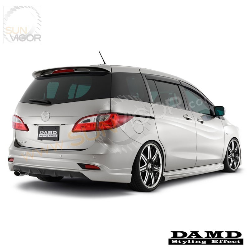 2010 mazda5 cw damd rear bumper diffuser spoiler sun. Black Bedroom Furniture Sets. Home Design Ideas