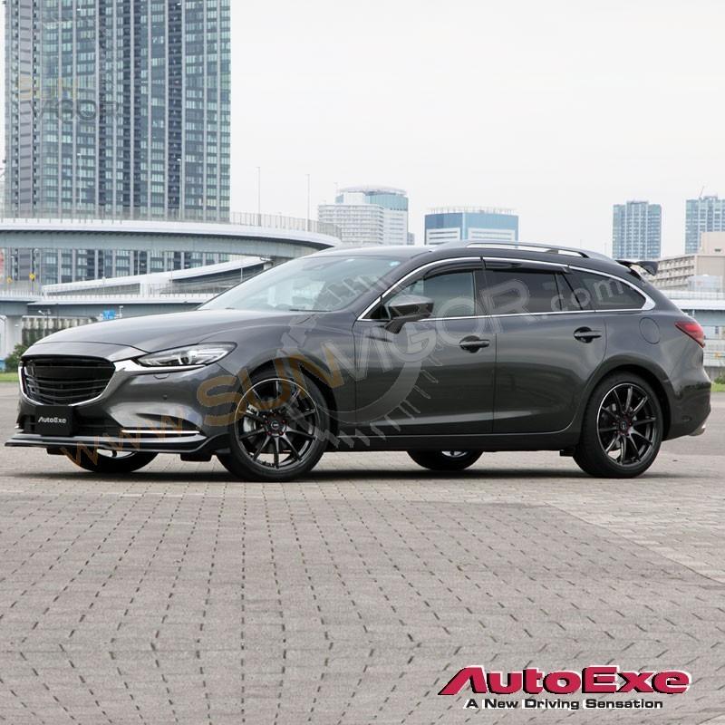 2018 Mazda Mazda6 Camshaft: 2018+ Mazda6 [GJ] AutoExe Front Bumper Spoiler