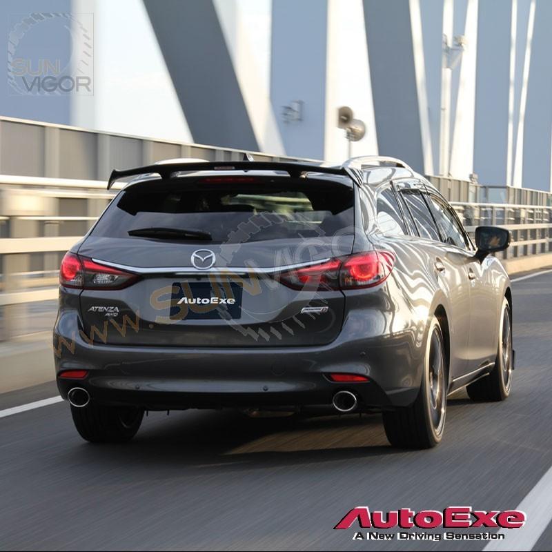 2018 Mazda Mazda6 Camshaft: 2018+ 萬事得6 馬自達6 [GJ] Wagon AutoExe 尾定風翼(擾流尾翼)