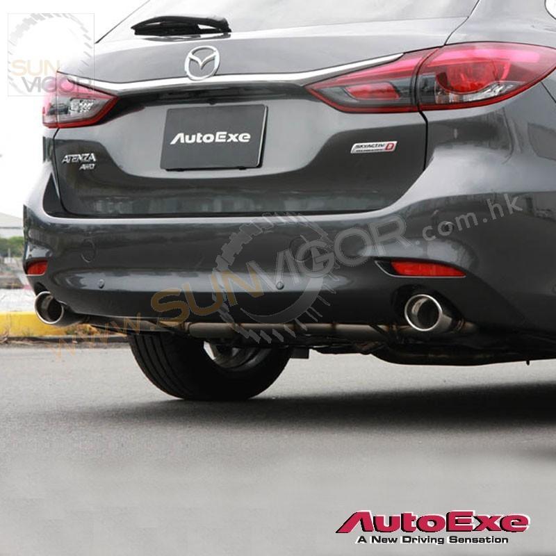 2018 Mazda Mazda6 Camshaft: 2018+ Mazda6 [GJ] AutoExe Stainless Steel Exhaust Muffler